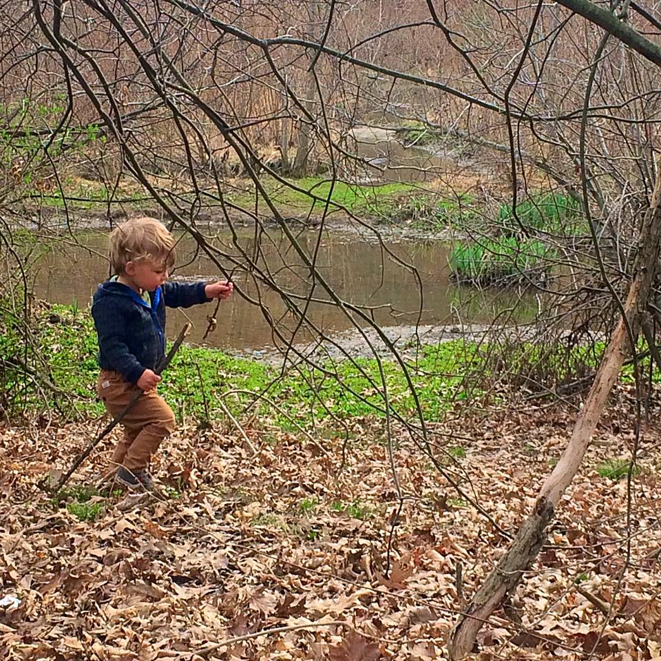 April 5 ·   A boy and his stick  ❤️