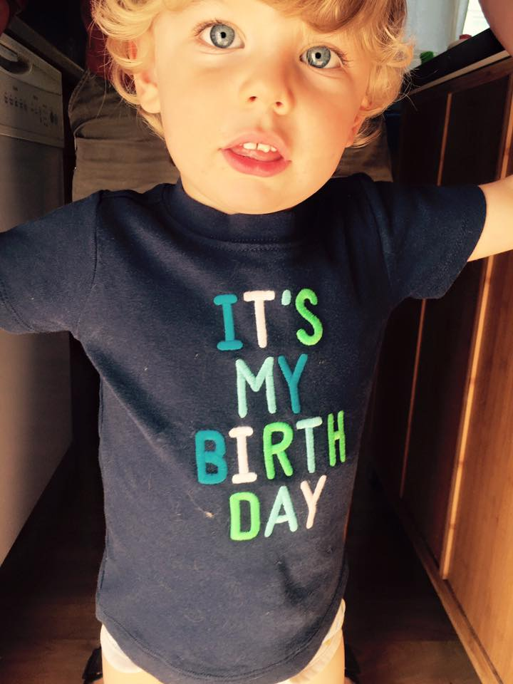 May 23 ·   Some days I look at him and honestly can't believe we MADE him.  And no, it's not anywhere near his birthday