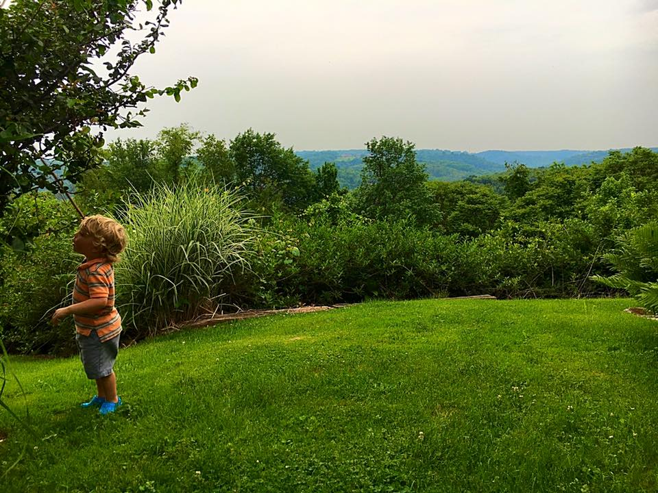 June 4 ·   A little boy and his big world.