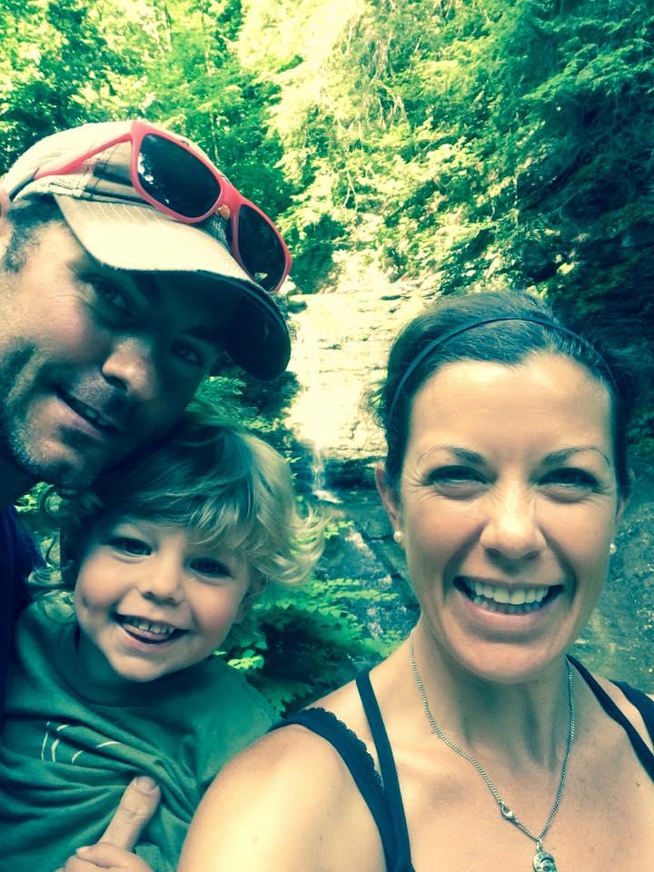 June 28 ·   Waterfall selfie!