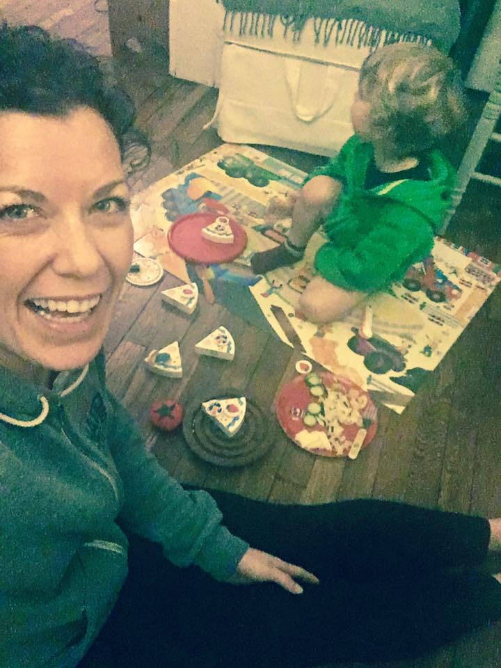 January 12.  Having a picnic--sharing cake on a truck puzzle, listening to a goal setting training  👊🏼    #nopantsrequired  🚽   Baby steps, but so far so good! How did you potty train your kids?!
