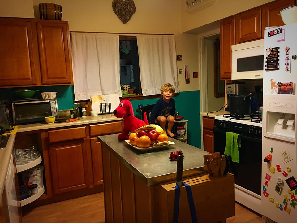 """January 20.  We had friends over recently for dinner. When they walked into our tiny kitchen, they said, """"wow, so this is where all the  magic happens!"""" 😂   Yup. In my tiny kitchen, with my potty training toddler. I didn't realize when I started, it this is part of where the roots of my business were born. Just me, cooking, snapping pictures with my iphone, and sharing them on social media. 🍴   My entire coaching business was built on my phone and an old laptop. 📱  💻   I didn't have any special degrees or certifications. I didn't use a fancy camera or an office. I didn't attend special trainings. I didn't have a social media following or a huge network. I was not a fitness or nutrition expert. I had hesitations and fears, but decided to go for it. 🙌🏻   I just committed to a healthy lifestyle, began sharing it, and inviting others to join me. I stared and showed up every day. That's it. 💫   That decision led to an opportunity to leave my full time teaching job, and focus on living my life on my terms. It continues to lead me to a growing team of like minded people who I call my TEAM, and the opportunity to help and inspire so many. ❤️   How different my life, and so many others would be if I had listened to my fears and hesitations. 🙈   Sometimes you just need to break outside of your comfort zone. THAT is where true learning, growth and opportunity happen  💫   _____________________________________  If you're interested in learning more about what I do, how I do it, and how you can too, send me a quick message! I am hosting a private group where I'm sharing it all and would love to have you!  And, no level of success is guaranteed from the coaching opportunity. It depends solely on work, commitment and skill. Basically just doing the damn thing. Obvi  😉"""