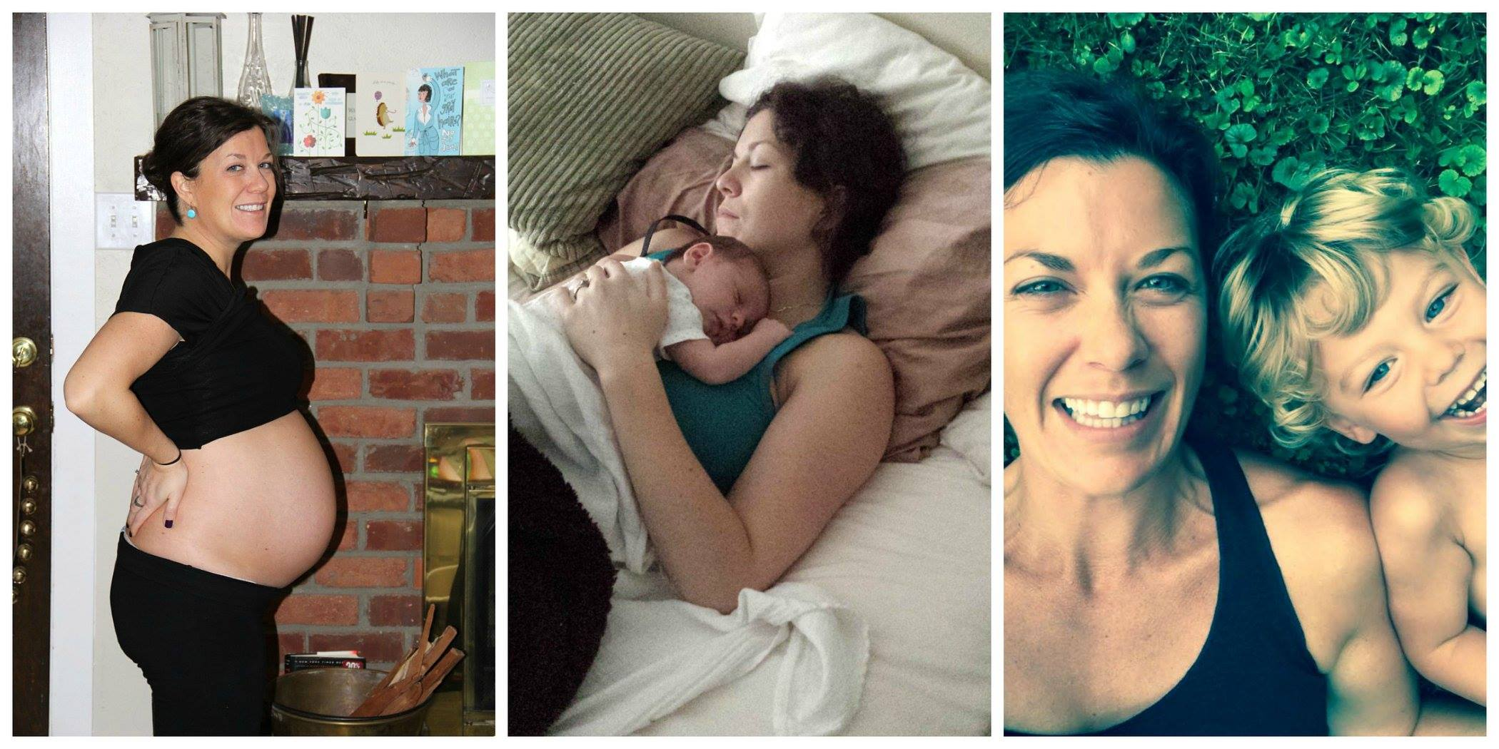 """February 14.  I gained 40 pounds during my pregnancy. You won't find many pictures of me during this time, or even in the months that followed. I was filled with the fear of """"letting go"""" and allowing my body do what it needed to do in order to accommodate a growing baby. Instead of embracing the miracle that IS pregnancy, I found myself thinking about how I didn't have control, fear that I would never find my way back into pre-pregnancy clothes, or that I would ever have the resources I needed to bounce back postpartum.😐  Funny how everything changes the moment yout hold that baby in your arms.<3  Do you know what I've learned? That a woman's body has the ability to create, grow and sustain LIFE, and that is a miracle. I have learned that a tiny person can inspire us to be a better version of ourselves than we ever thought possible. I have learned that inward strength is what radiates outward, and that as a WHOLE defines who we are. That with support, we can achieve ANYTHING we set our minds to.😎  As for those pre-pregnancy pants? I got back into them. And, I'm stronger in body and in mind than I ever was pre-baby. Should we be blessed with another pregnancy, I will embrace my body as it grows and changes, because I KNOW that I have a resources that I need to nail my goals, and fuel me both inside and out. And I will document the shit out of the journey!🙌🏻  Those home workout programs and that shake that I drink on the daily? They work y'all.🤘🏼  You know where to find me when you're ready."""