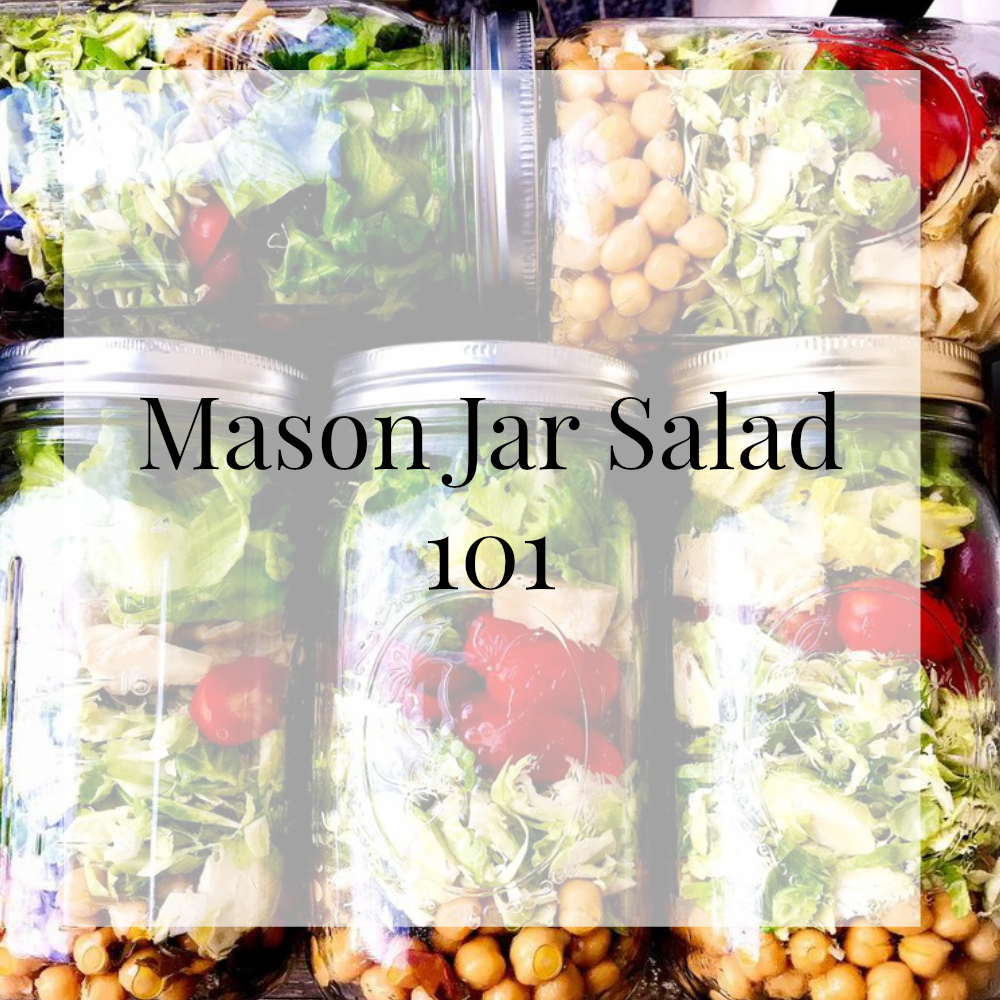 How to Make Mason Jars Salads