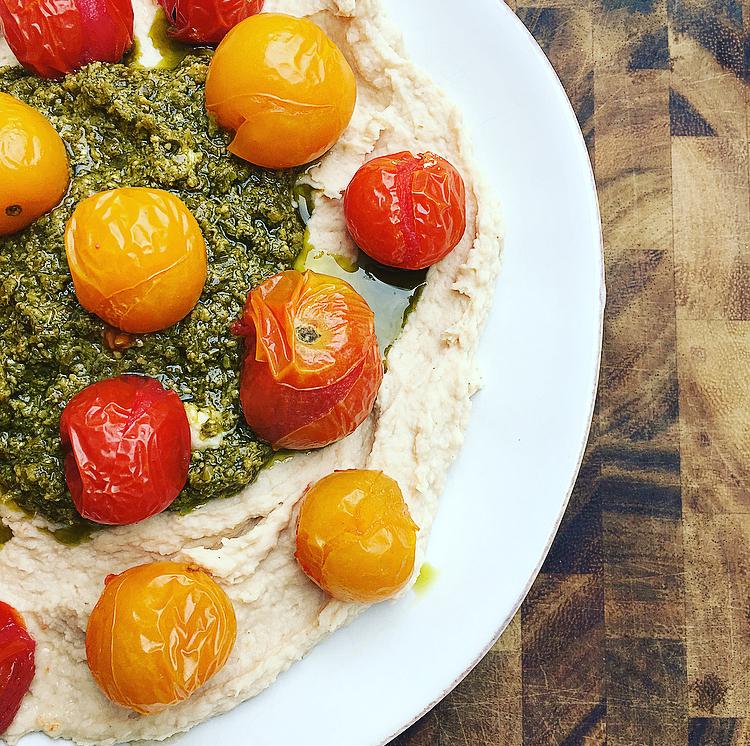 Caprese Hummus Recipe