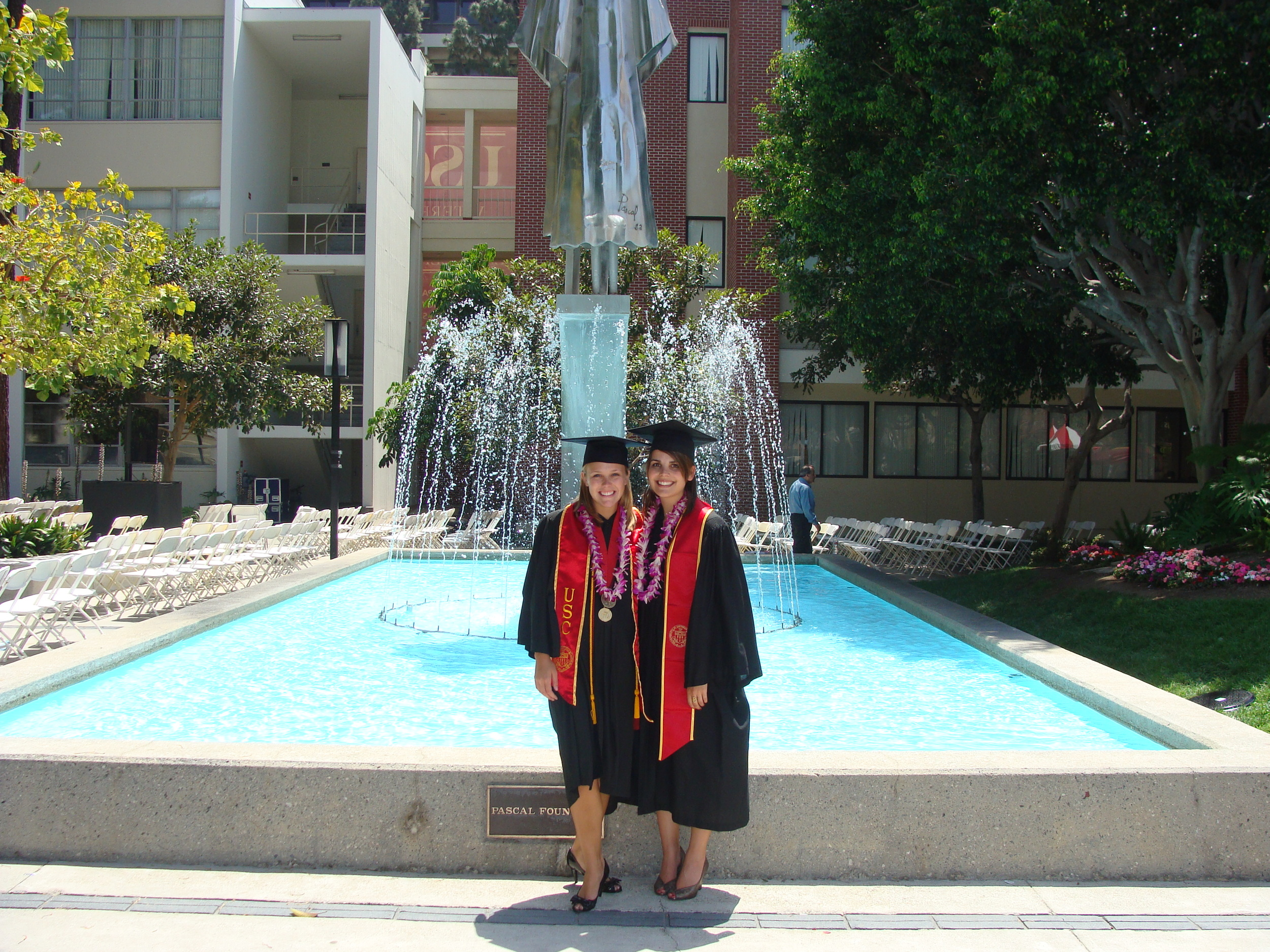 Graduation from USC - The best!