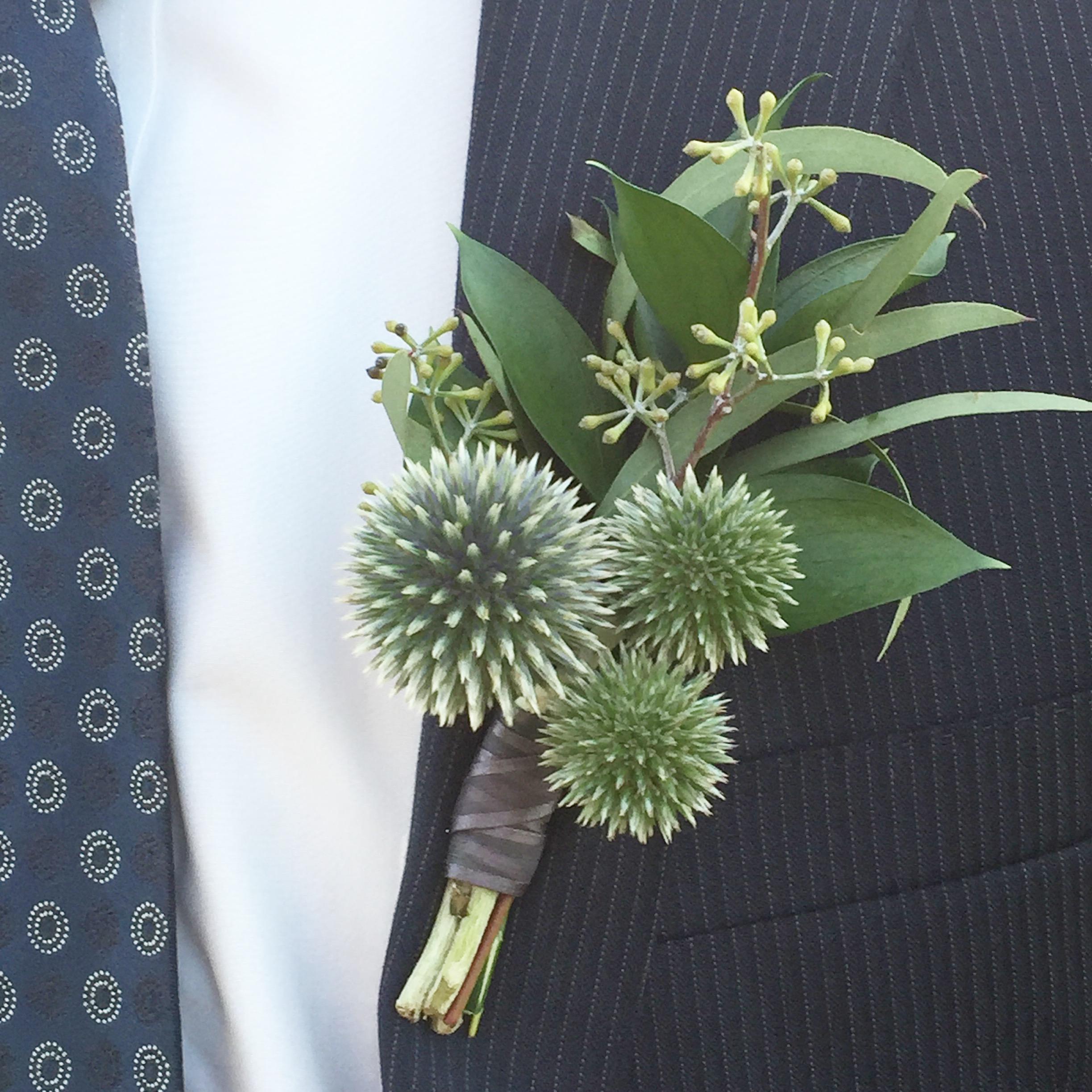 Courtney Inghram Events Richmond and Charlottesville Wedding Florist Boutonniere