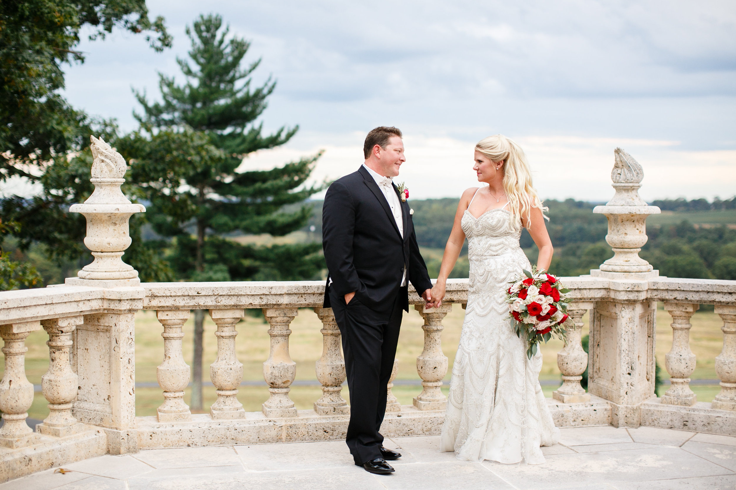 Courtney Inghram Events Trump Winery Wedding Florist Charlottesville, Virginia