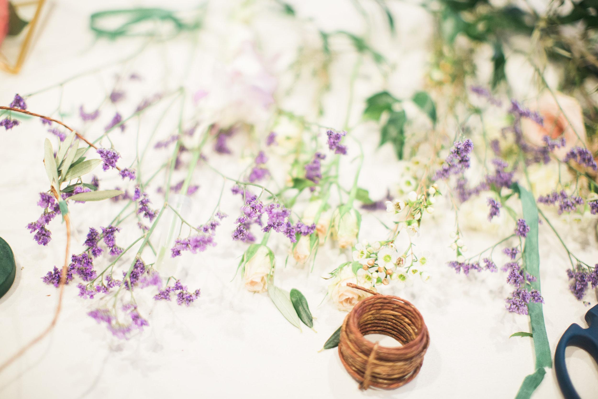 Courtney Inghram Hampton Roads Virginia Wedding Floral Designer