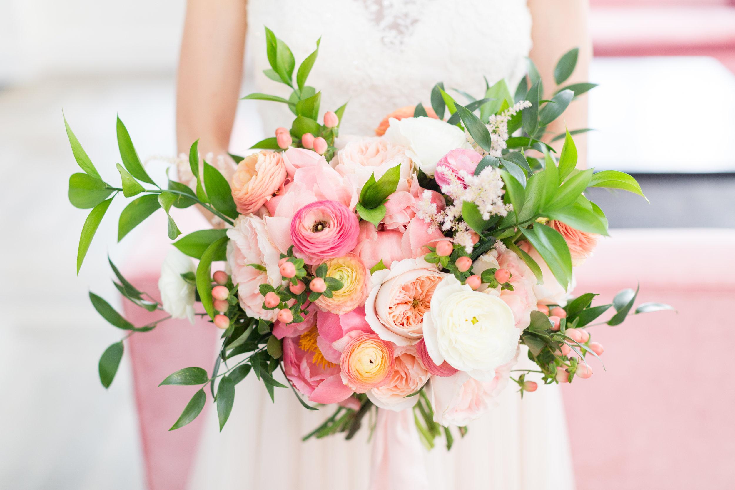 Courtney Inghram Quirk Hotel Richmond Virginia Wedding Florist
