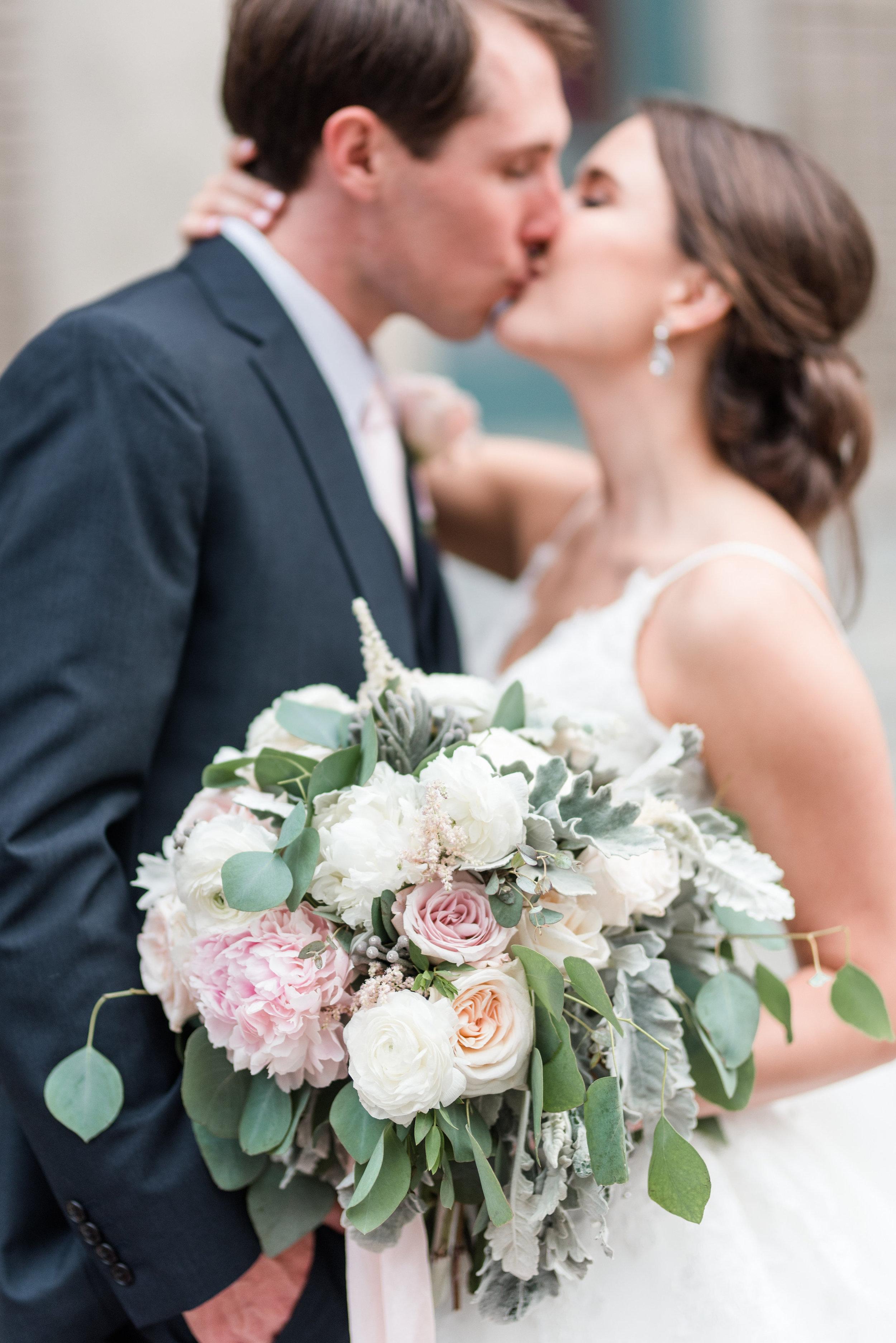 Courtney Inghram Historic Post Office Hampton Virginia Wedding Florist