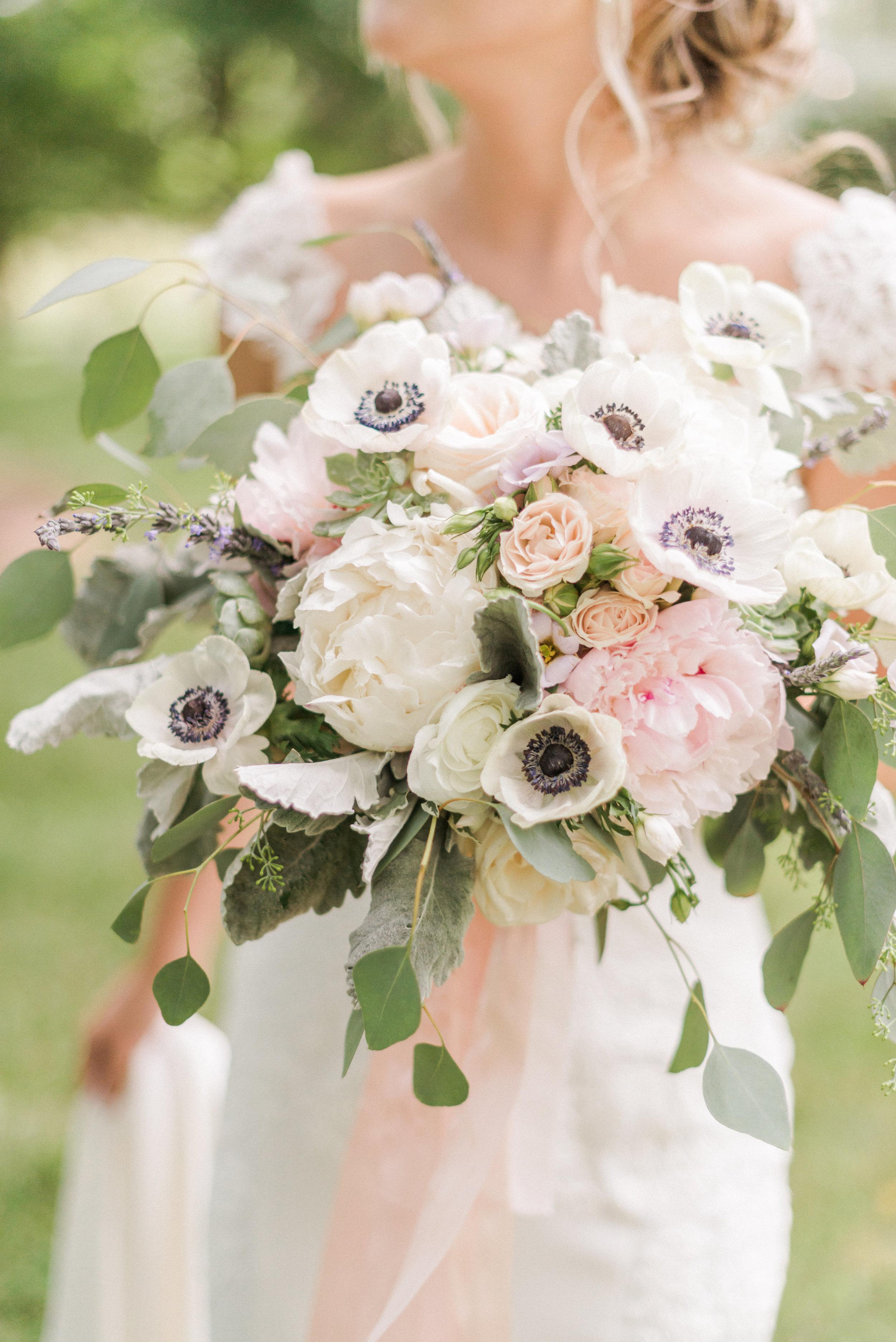 Courtney Inghram Virginia Wedding Florist Big Spring Farm Lexington, Virginia