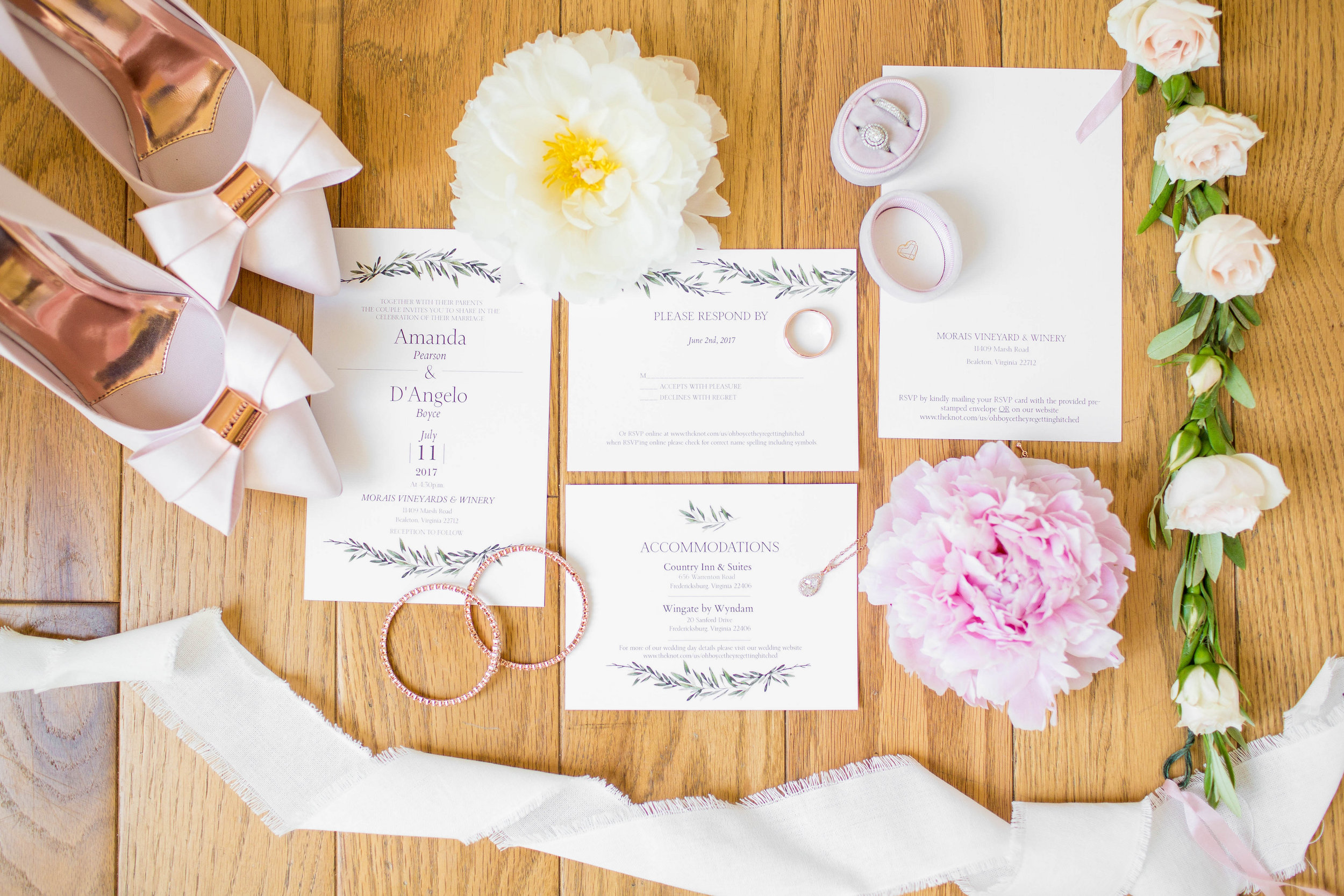 Richmond and Charlottesville Virginia Wedding Florist Courtney Inghram
