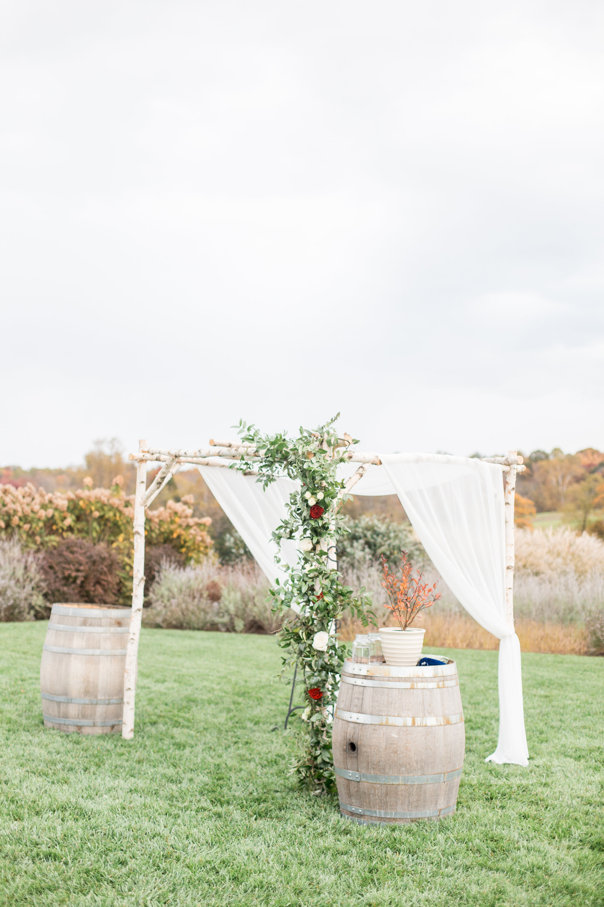 Courtney Inghram Early Mountain Vineyards Charlottesville Virginia Wedding Florist