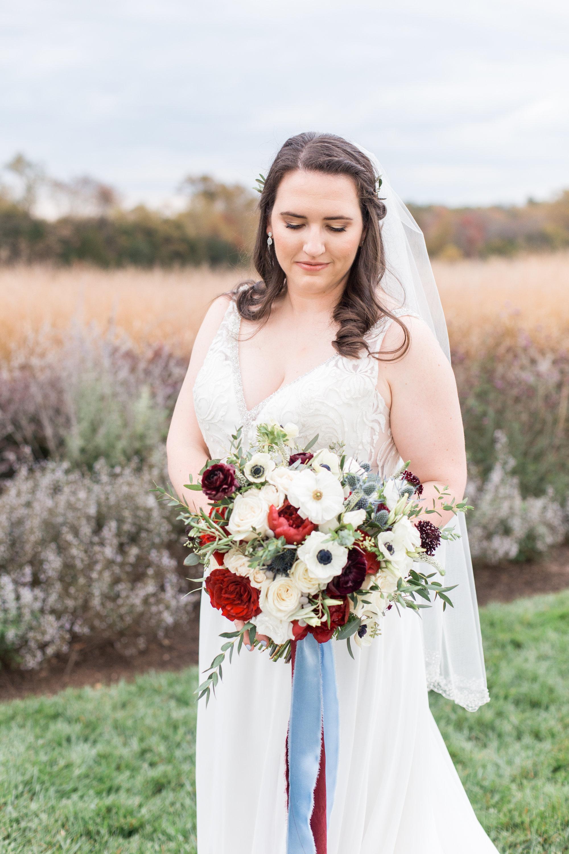 Courtney Inghram Early Mountain Vineyards Charlottesville Wedding Florist