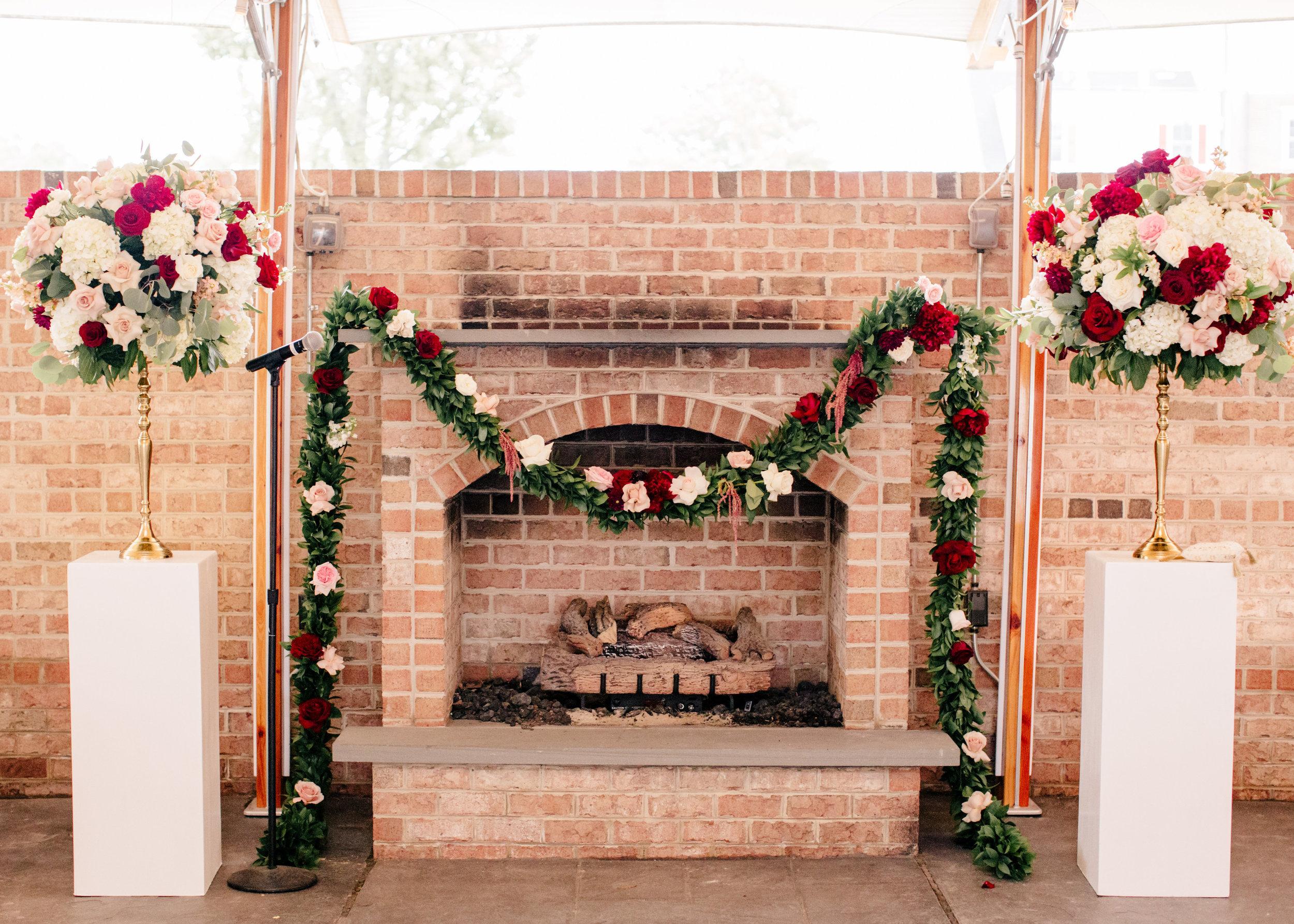 Courtney Inghram Tidewater Inn Easton Maryland Destination Wedding Florist