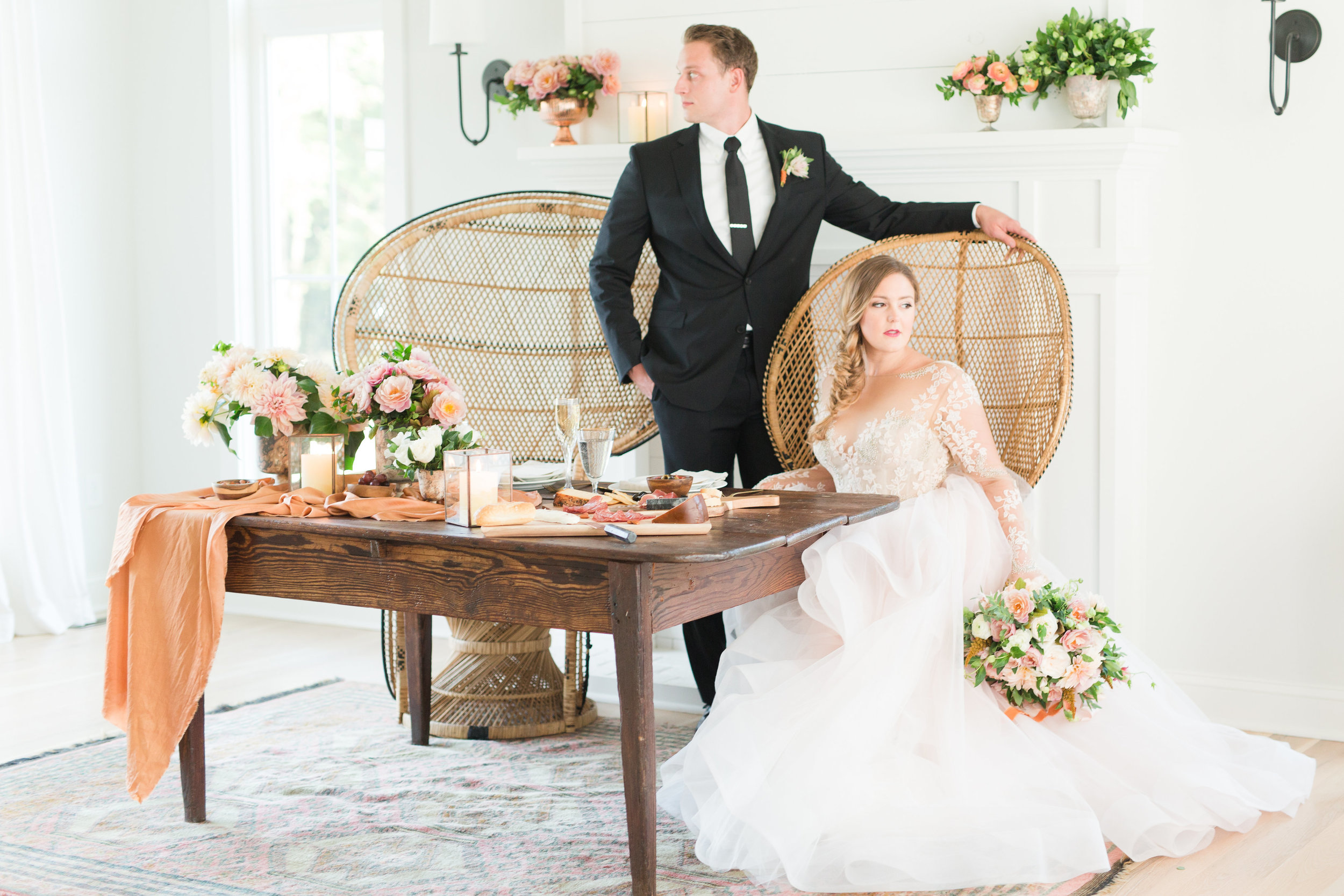 Courtney Inghram Katelyn James Richmond Wedding Photography Styled Shoot