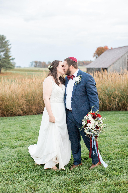 Courtney Inghram Virginia Wedding Florist Early Mountain Vineyards Charlottesville Wedding