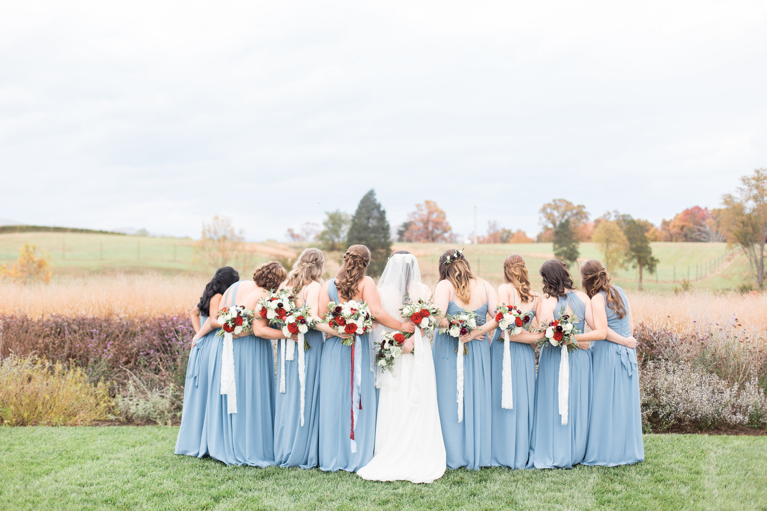 Courtney Inghram Floral Design Virginia Charlottesville Early Mountain Vineyard Wedding Florist