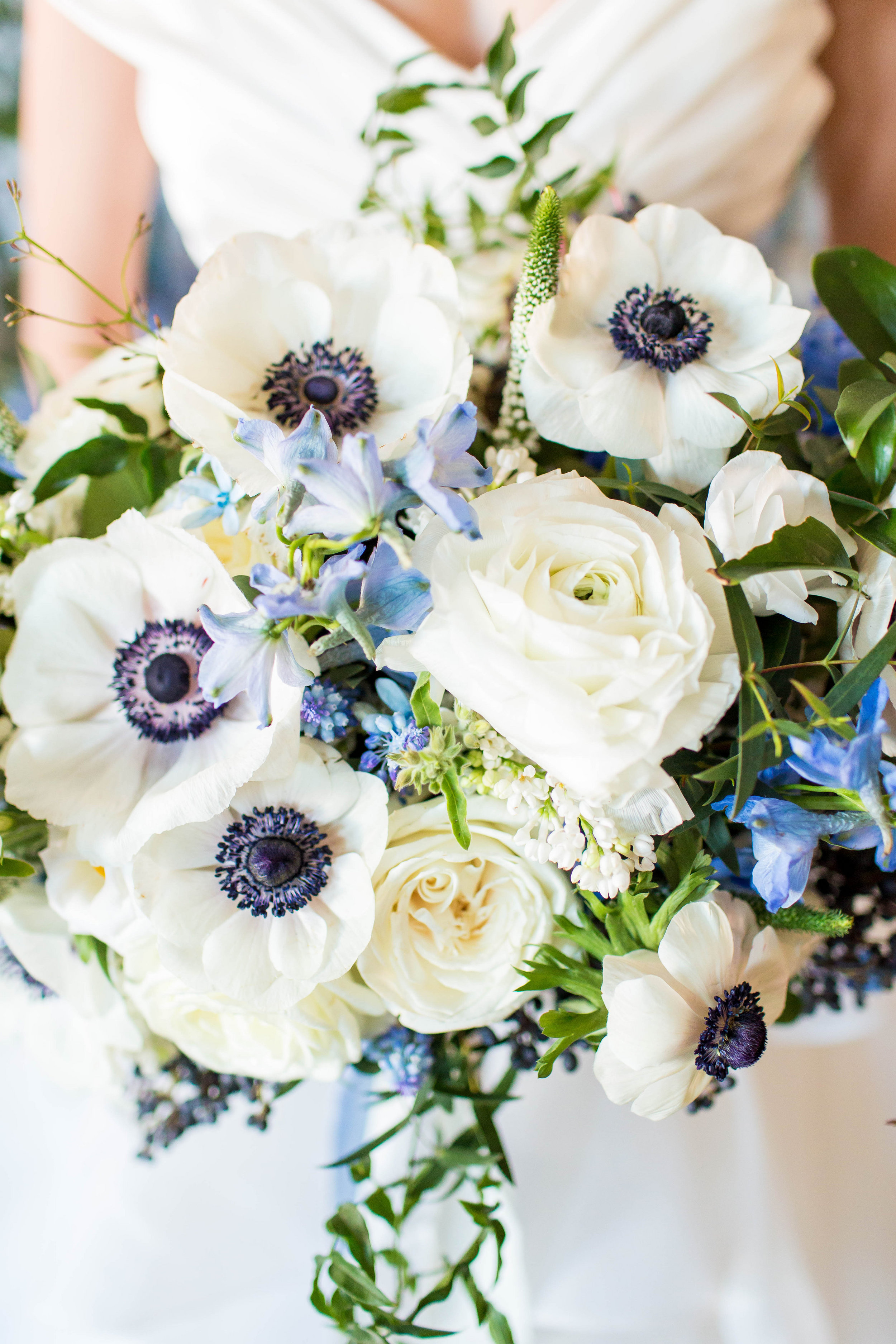 Courtney Inghram French Blue Southern Wedding Inspiration with Hope Taylor Photography