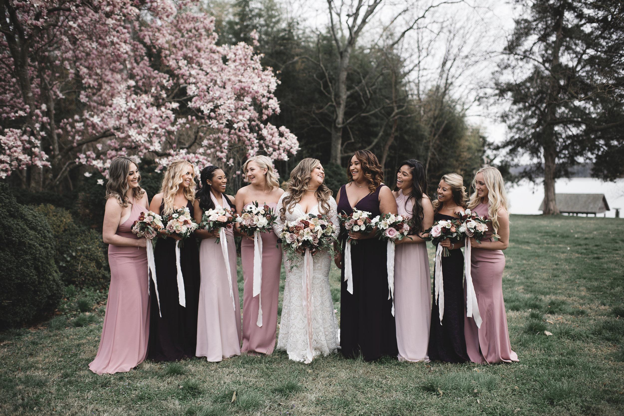 Courtney Inghram Richmond Wedding Westover Plantation Florist