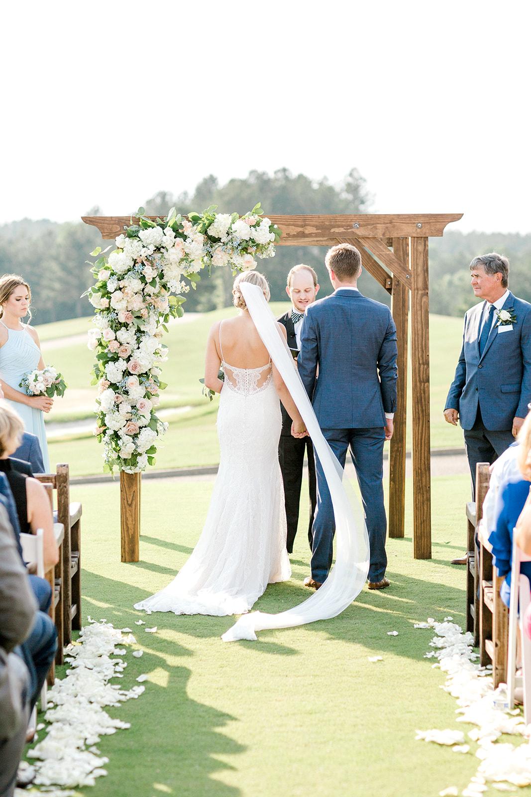 Courtney Inghram Independence Golf Club Richmond Virginia Wedding Florist