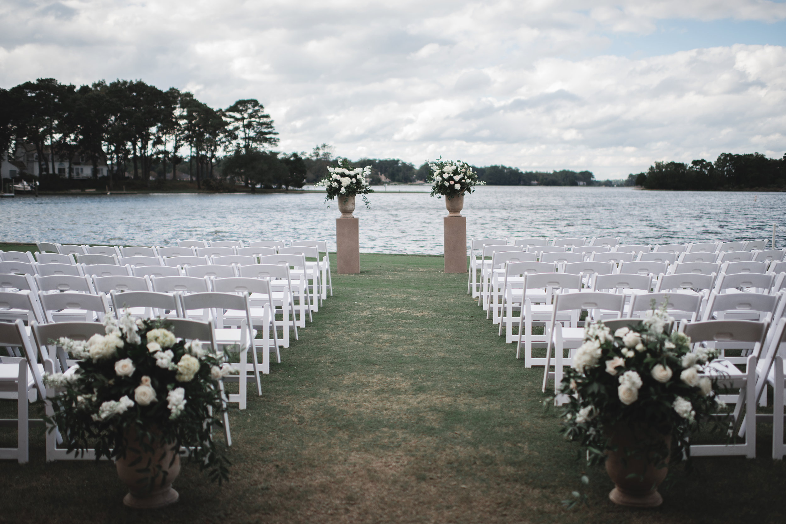 Courtney Inghram Virginia Beach Cavalier Wedding Florist