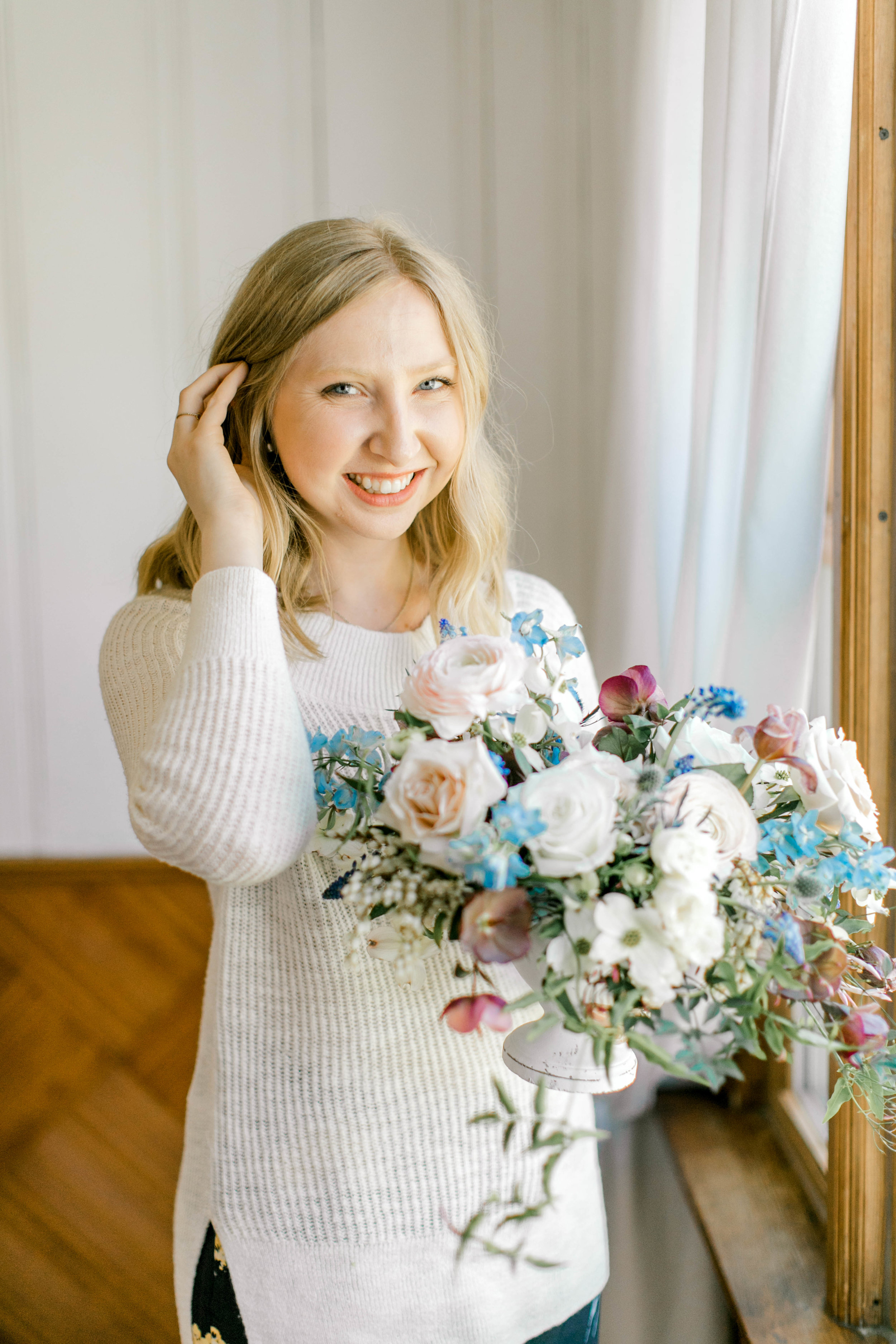 Courtney Inghram Virginia Wedding Florist Business and Floral Design Workshop
