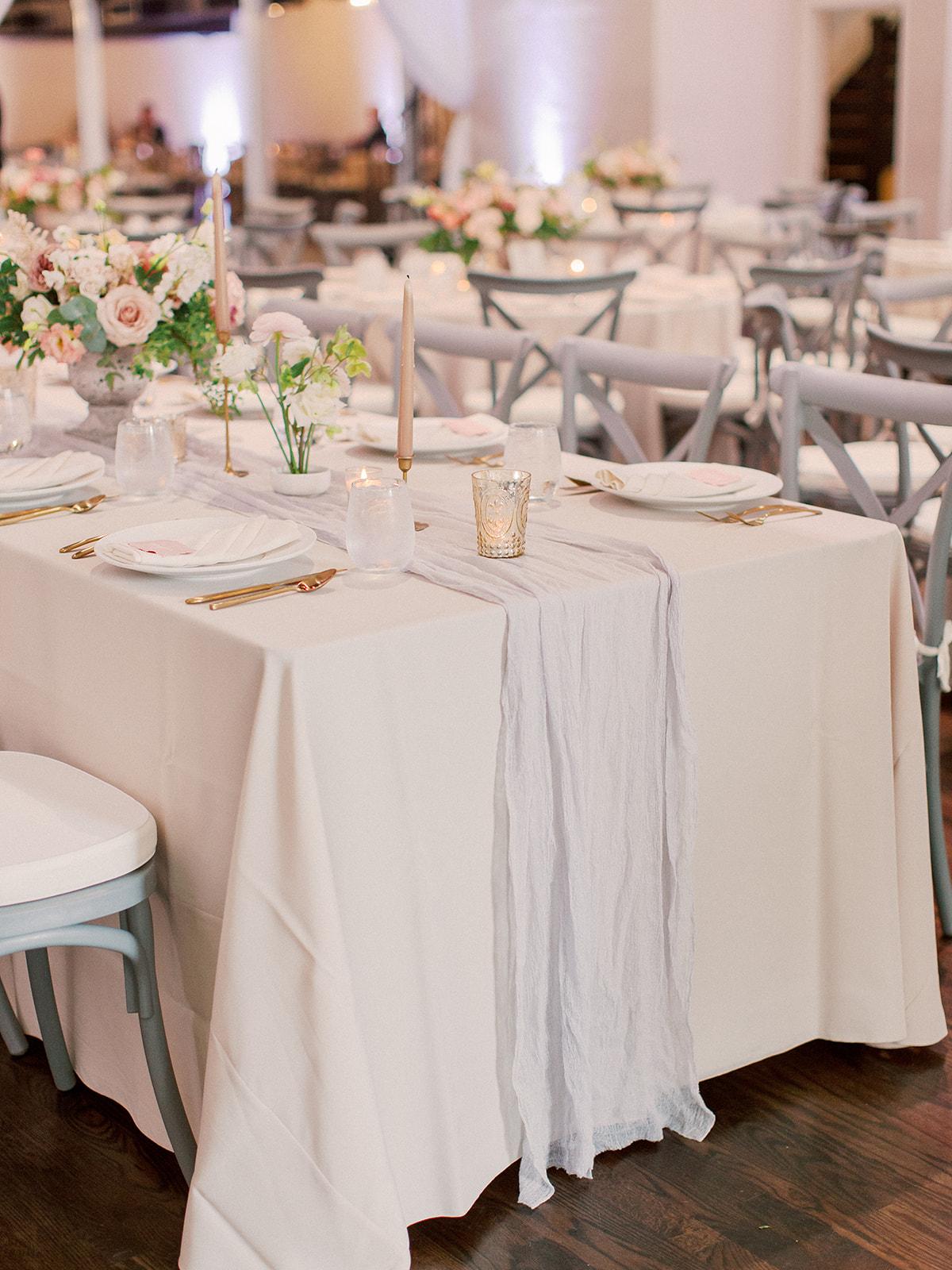 Dusty Rose and Blush Historic Post Office Hampton Virginia June Wedding Courtney Inghram Floral Design