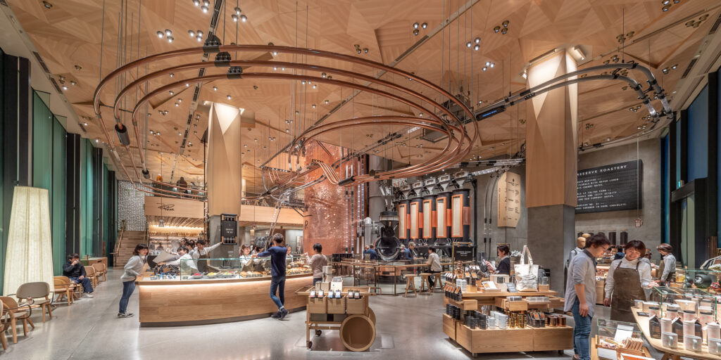 Starbucks Tokyo: Innovative, Immersive, Inspiring -