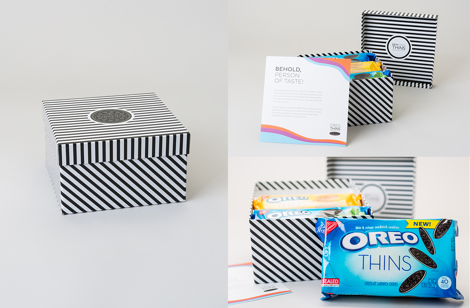 OREO Thins influencer box design