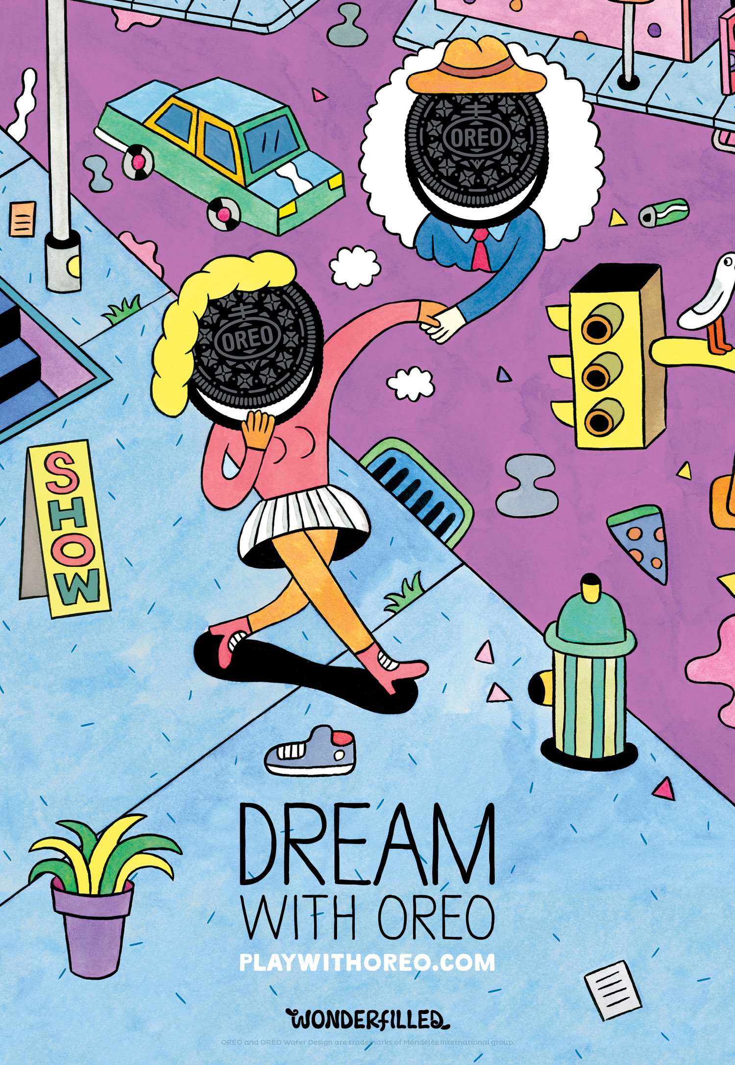 Dream With Oreo - Andy Rementer