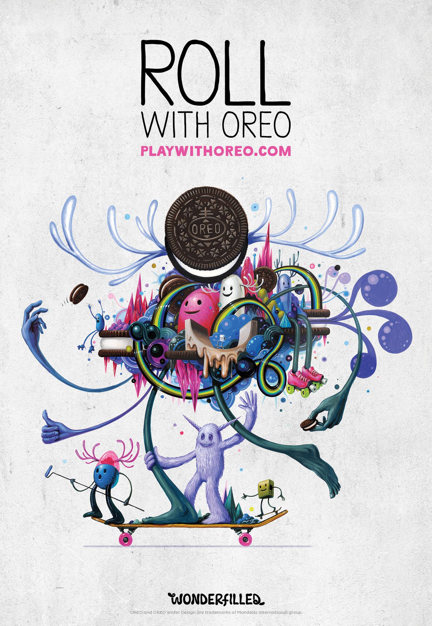 Oreo Head - Jeff Soto