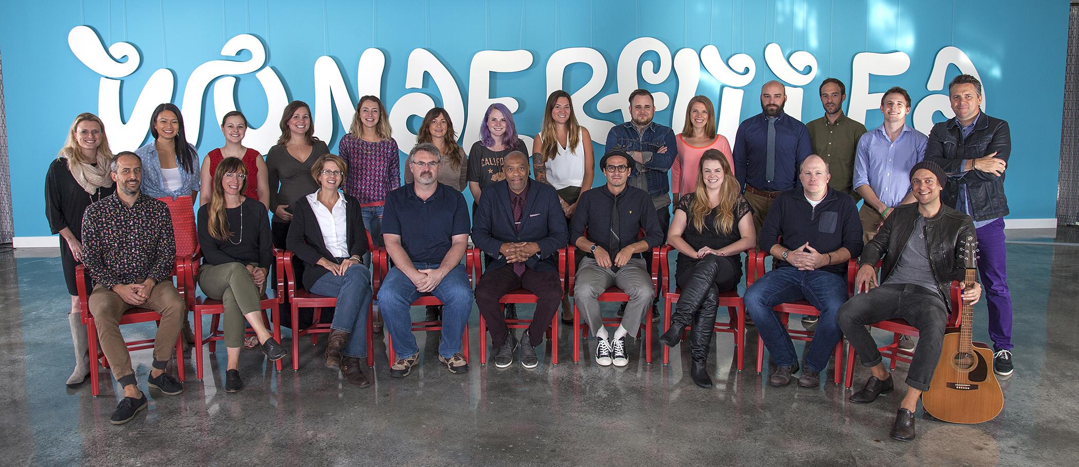 The Martin Agency Oreo Wonderfilled Team