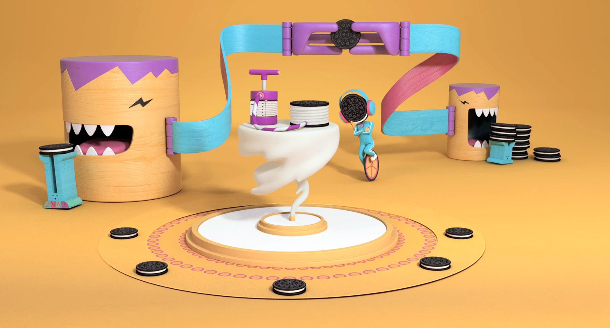 Play With Oreo - Crunch World