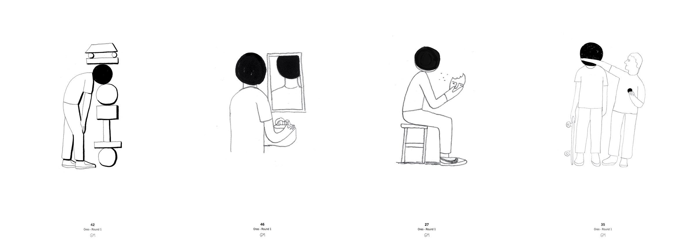 Geoff McFetridge concept sketches 2
