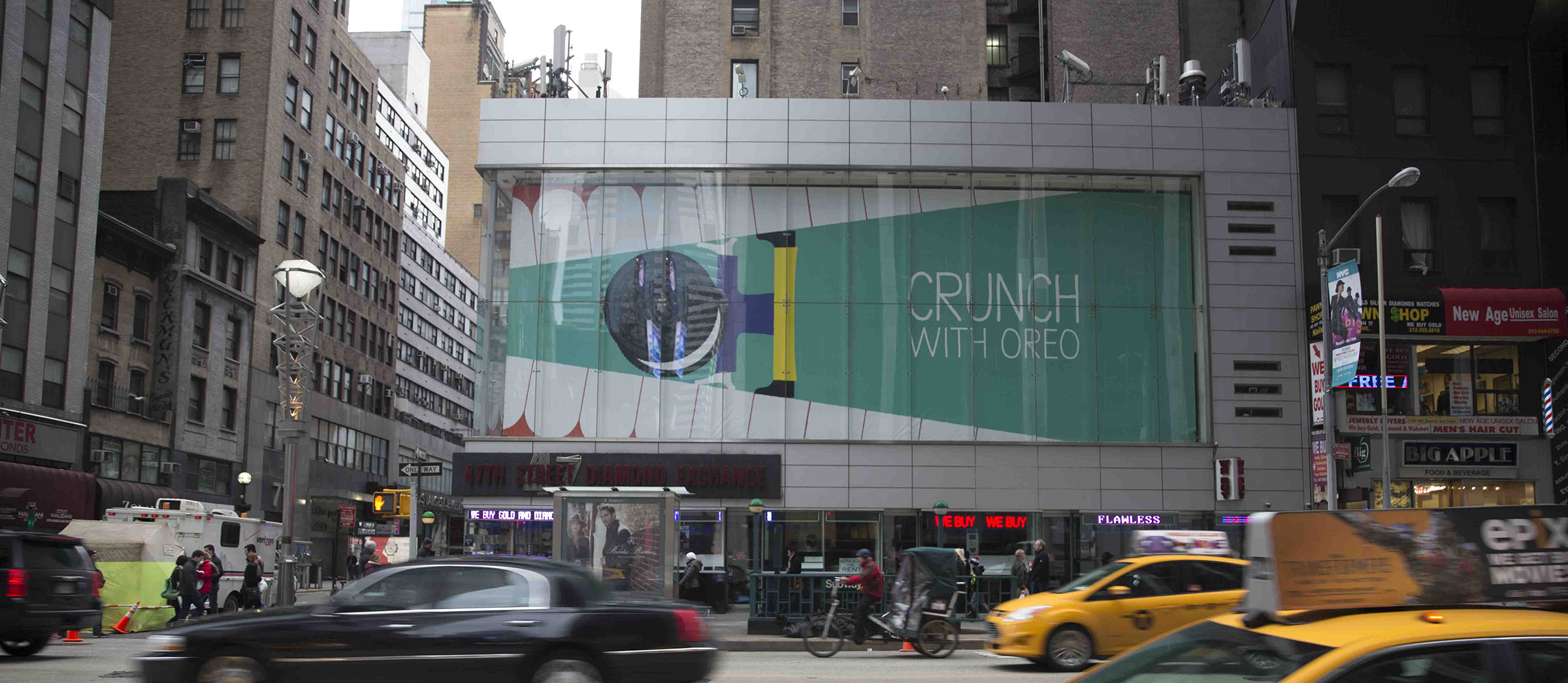 Crunch With Oreo