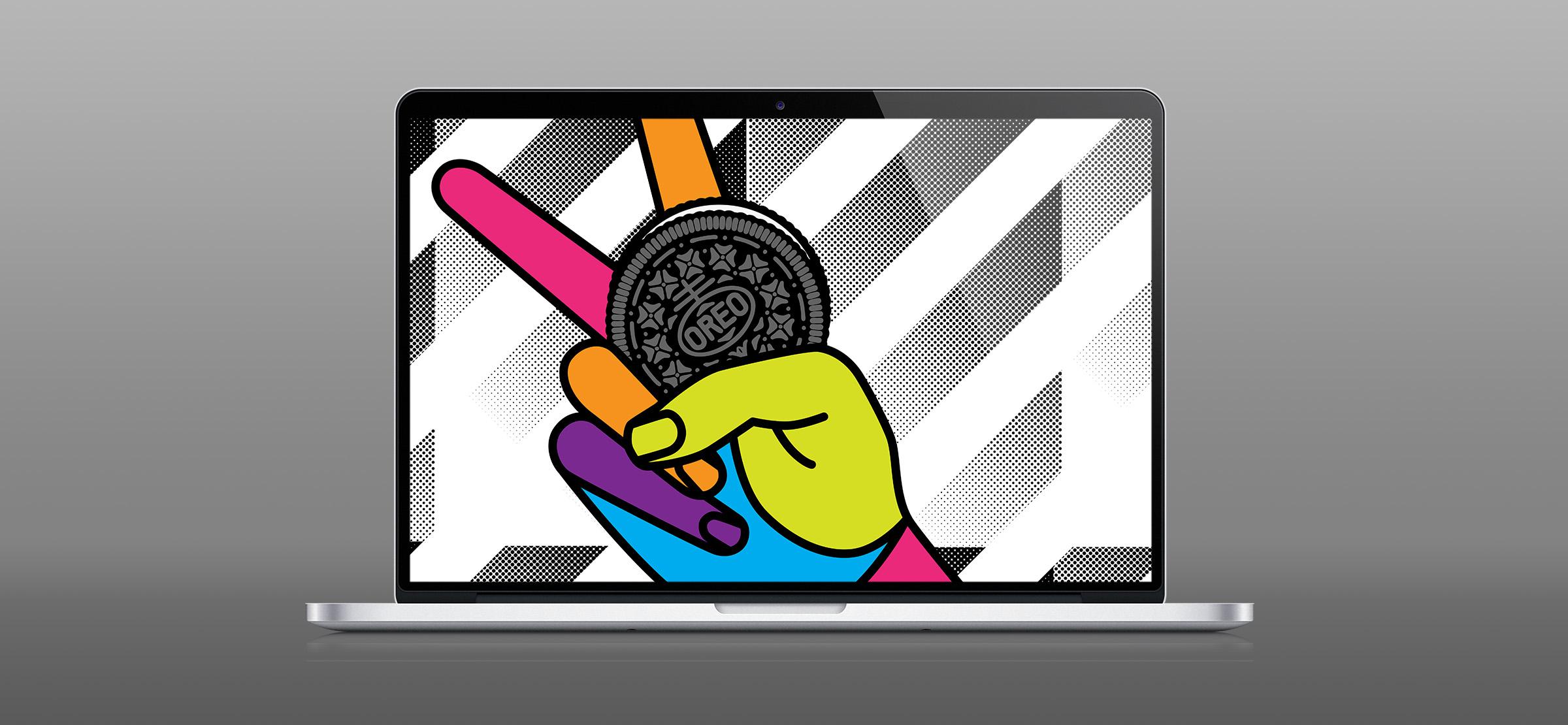 Oreo Design Laptop