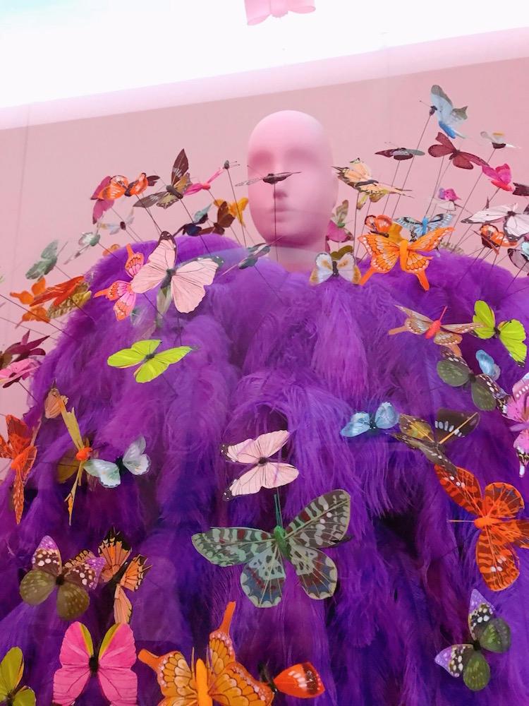 Jeremy Scott for Moschino, Butterfly Dress, S/S 2018