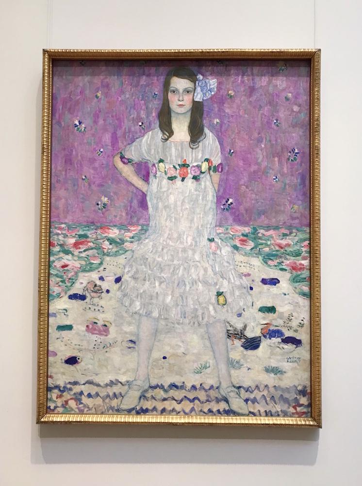 Gustav Klimt, Mada Primavesi, 1912-13, oil on canvas