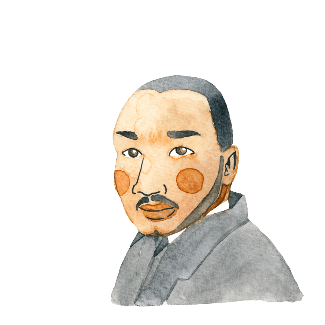 D.r Martin Luther King Jr. for his namesake day 2017