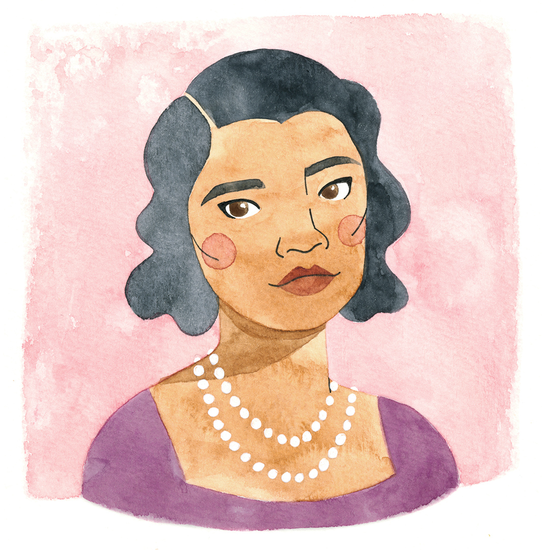 Marian Anderson, for  Illustrated Impact  and Black History Month 2017
