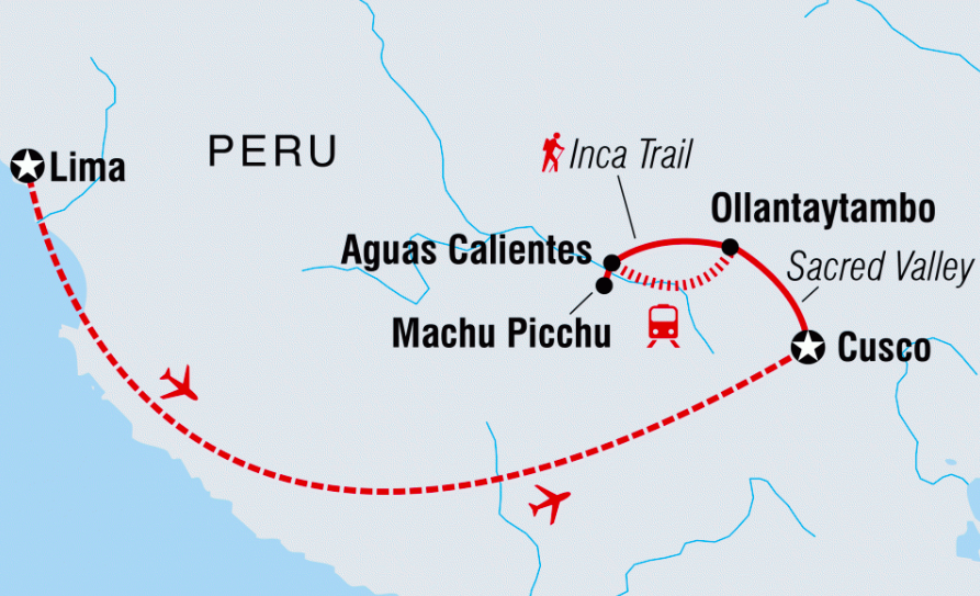 Photos/Map provided by Intrepid Travel. For more images of this trip,   CLICK HERE