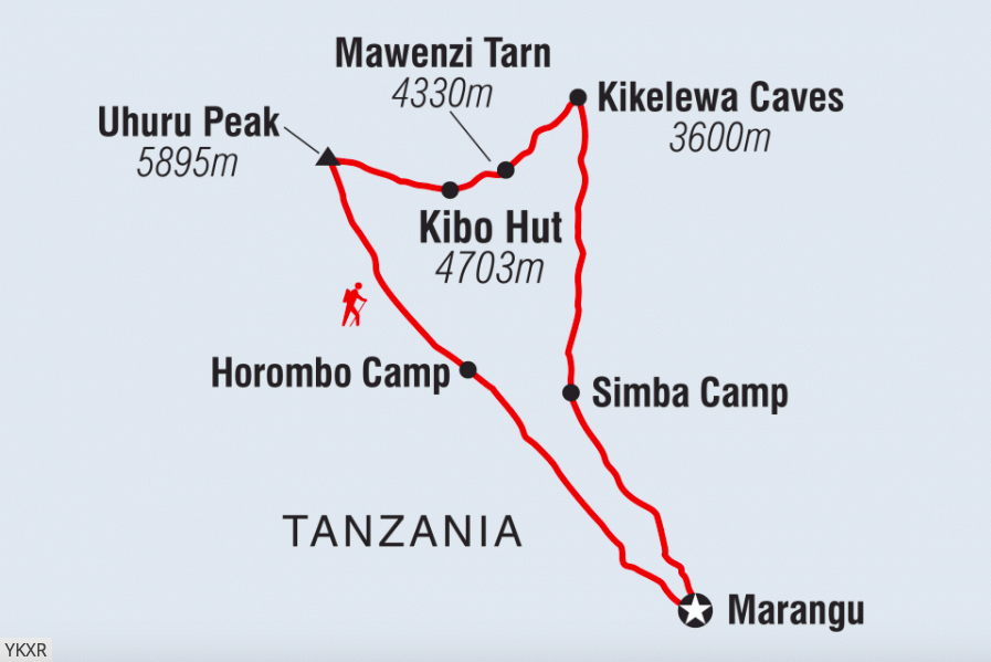 Photos & Map provided by Intrepid Travel. For more images of this trip,  CLICK HERE
