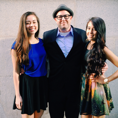 Me and mydaughters.