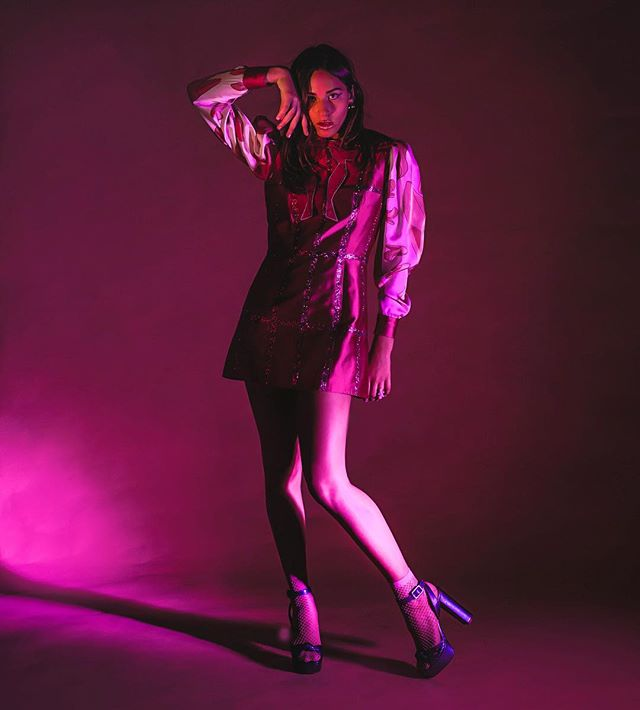 Dream girl 💭 @samsaruh_music 🔥wearing @cassandragreenhalgh 🎀 for her new #single #subvert 💥 . . . #shotby @michelleghunder #hmua @danijfuentesmua #styleby @mutabazi_k