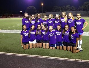 Purple Team shirts for Glaad Sprit Day