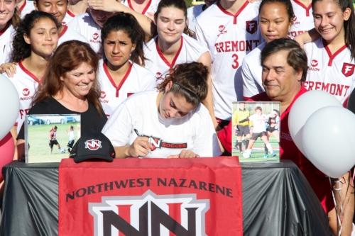 Erin Kaprelian - Northwest Nazarene University