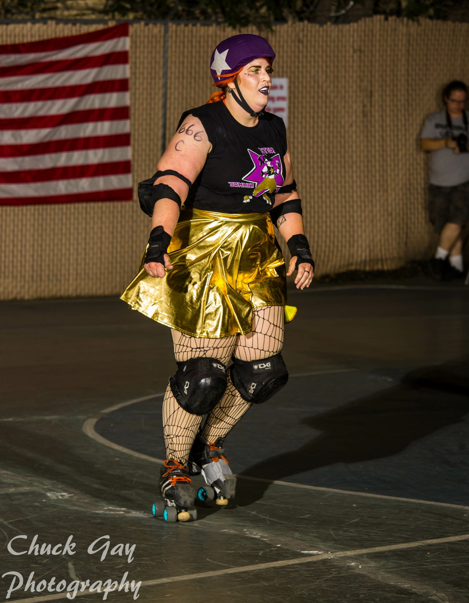 August 2018 Skater of the Month — SFV Roller Derby