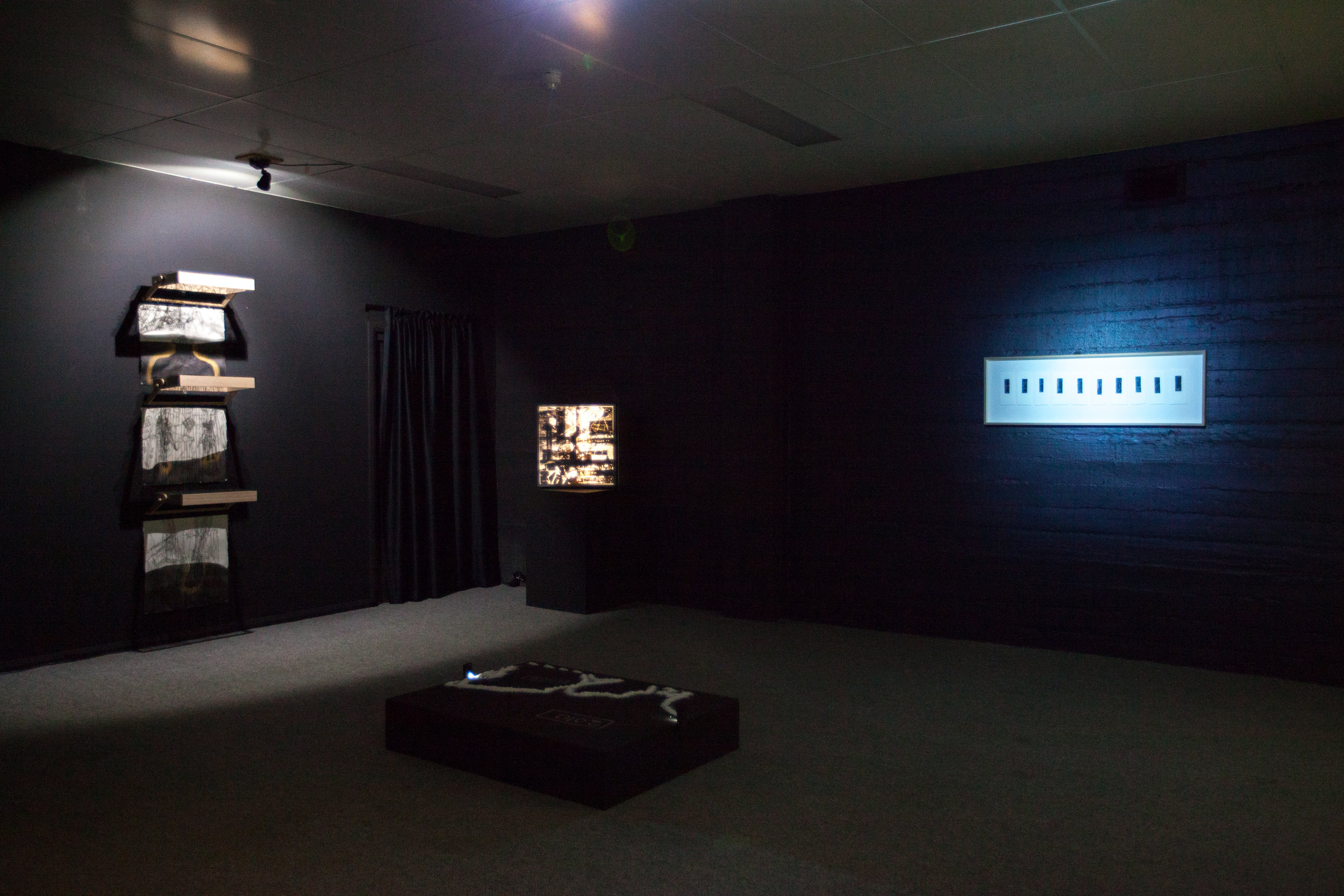 Sawtooth ARI, installation view. Photograph by Mel de Rutyer.